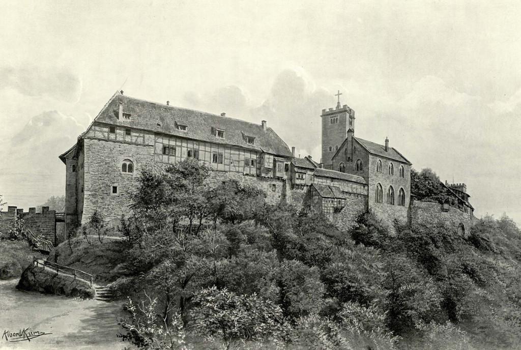 Wartburg mit Dirnitz